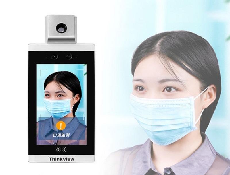 Control de acceso á medición da temperatura de recoñecemento facial, axudando ás empresas (de base) a prevención e control de epidemias